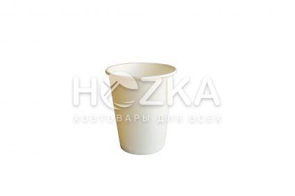Стакан Е 250 мл бумажный 50 шт/уп белый - 1