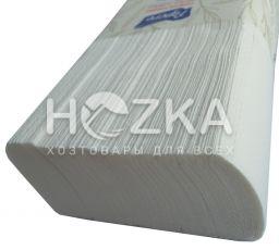 Полотенце бумажное Z Luxe 2 слоя белые 200 л/уп