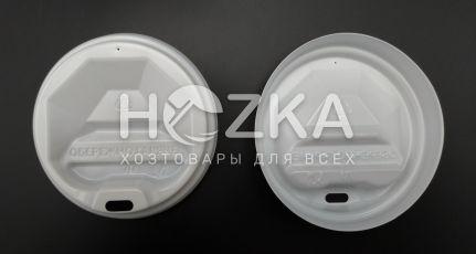 Крышка пластиковая U д/бум. стакана 70 (50 шт) белая