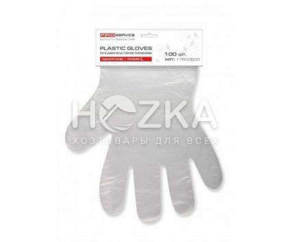 Перчатки ПЕ 100 шт на планшете - 1