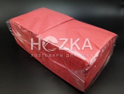 Салфетки 33*33 2 слоя красные 200 шт - 1