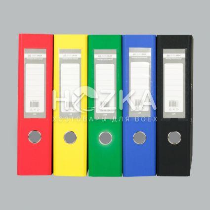 Папка-регистратор А4 красная 70 мм - 2