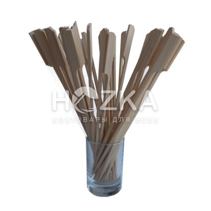 "Шпажка""Гольф"" 20см 100 шт из бамбука - 1"