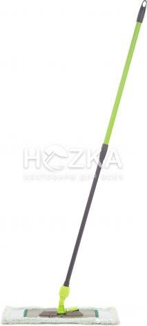 Швабра плоская универсальная с телескопической ручкой 120 см - 1