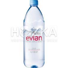 Evian минеральная вода 1,0 л ПЭТ