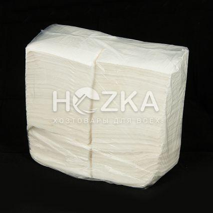Барные белые салфетки 24*24 (10 пач/упак) - 3