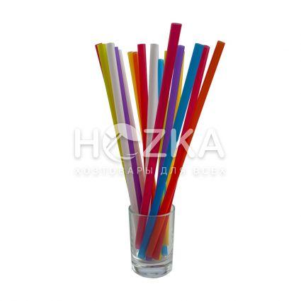 Трубочки Ассорти Фреш прямые 21 см 500 шт - 1