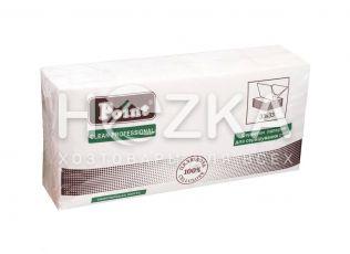 Салфетки 33*33 2 слоя белые 1/8 250 шт HORECA (4/уп)