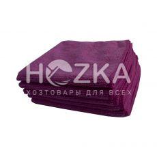 Салфетка микрофибра Сlean Up универс розовая 30х30 см 5шт