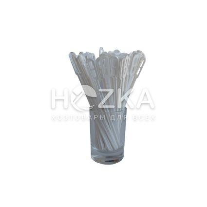 Мешалка д/кофе белая 1000 шт пластик - 1