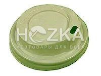 Крышка пластик U д/бум.стакана 76 (50 шт) цветная - 1