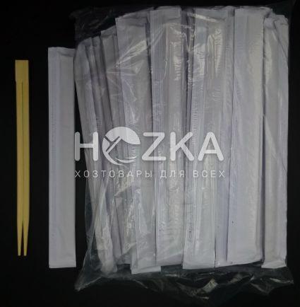 Палочки для суши бамбуковые 20 см 100 шт/уп - 4