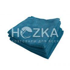 Салфетка микрофибра Сlean Up универс синяя 30х30 см 5шт
