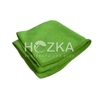 Салфетка микрофибра Сlean Up универс зелёная 30х30 см 1шт - 1
