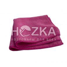Салфетка микрофибра Сlean Up универс розовая 30х30 см 1шт