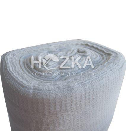 Ткань вафельная белая 45 см, 120г/м2, 60м - 1