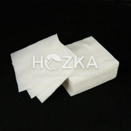 Барные белые салфетки 24*24 (10 пач/упак) - 2