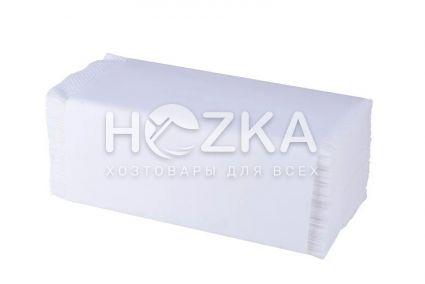 Полотенце бумажное V-скл. 2 слоя белые 150 л/уп - 1