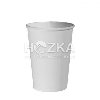Стакан Е 110 мл бумажный 50 шт/уп белый - 1