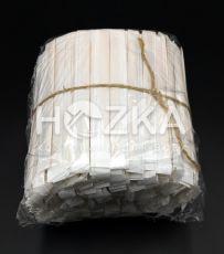 Мешалка д/кофе деревянная в инд. упак. крафт 500 шт в ЗИП пакете