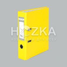 Папка-регистратор А4 жёлтая 70 мм