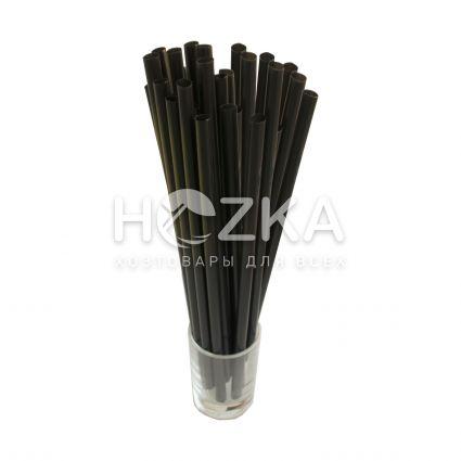 Трубочки Фреш чёрные в инд/уп 200 шт - 1