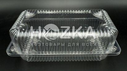 Ёмкость (1600мл) 220*140*73 мм с крышкой (500шт)