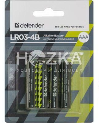 Батарейка LR3 ААА (4 шт) - 1