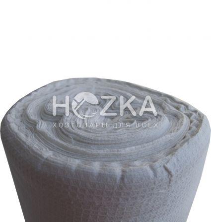 Ткань вафельная белая 1 рул/60 м - 1