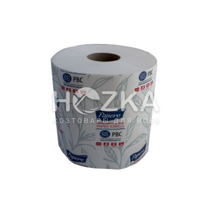 Полотенце бумажное Джамбо 100м с отрывом - 2