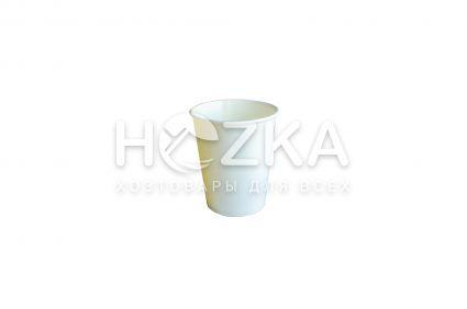 Стакан Е 175 мл бумажный 50 шт/уп белый - 1