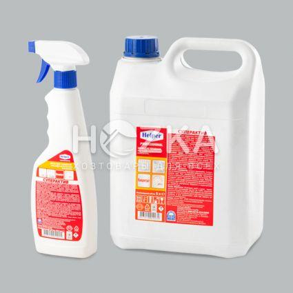 HELPER Professional Средство для чистки сантехнических поверхностей Суперактив - 2