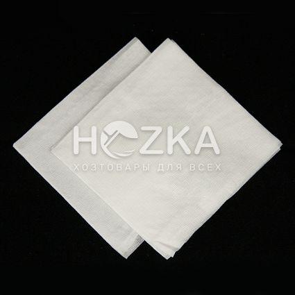 Барные белые салфетки 24*24 500 шт supreme - 1