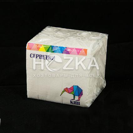 Салфетка белая 24*24 1-слой 100 шт/пач - 1