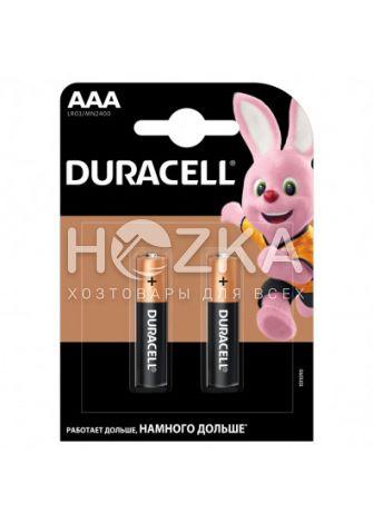 Батарейка Duracell LR-03 AAА по 2шт - 1