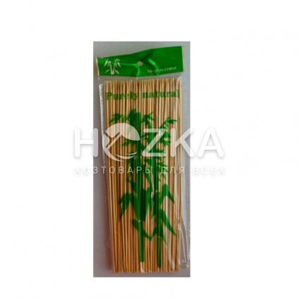 Палочки д/шашлыка 20см 100шт бамбук - 1