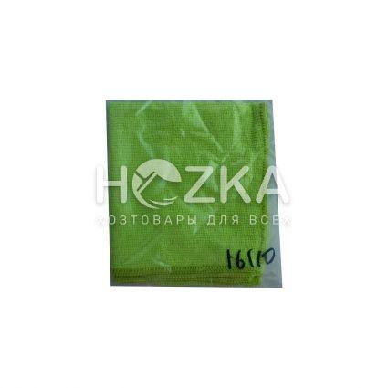 Салфетка микрофибра Сlean Up универс зелёная 30х30 см 1шт - 2