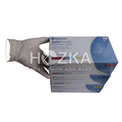 Перчатки латексные 100 шт ( М) 7% - 2