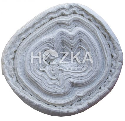 Ткань вафельная белая 1 рул/60 м - 3