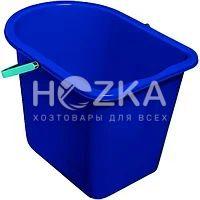 Ведро МОП 10 л прямоугольное синее - 1