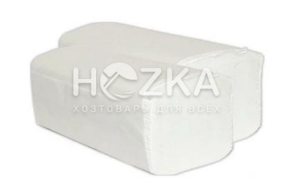 Салфетка вкладыш ZZ белая 1 слой 200 шт. - 1