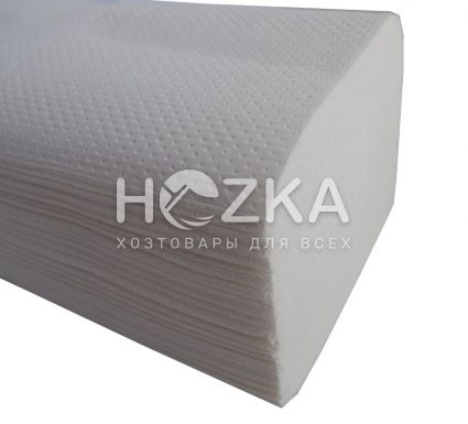 Салфетка-вкладыш ZZ белая 150 л/уп (мини) - 1