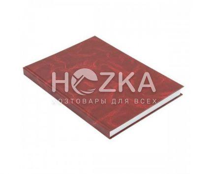Книга канцелярская А4, 192 л. клетка, офсет, твёрдая ламин. обложка - 1