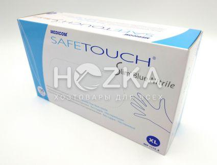 Перчатки нитриловые синие XL 100 шт - 3