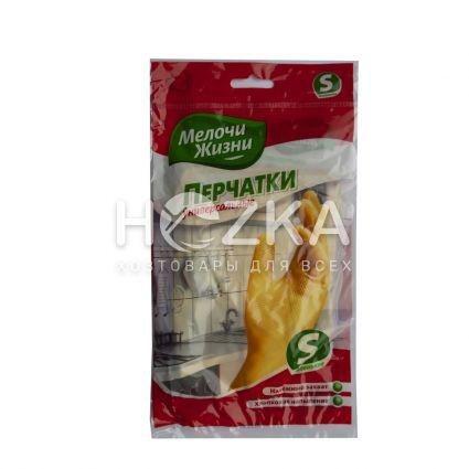 Перчатки резиновые сверхпрочные МЖ ( S) - 3