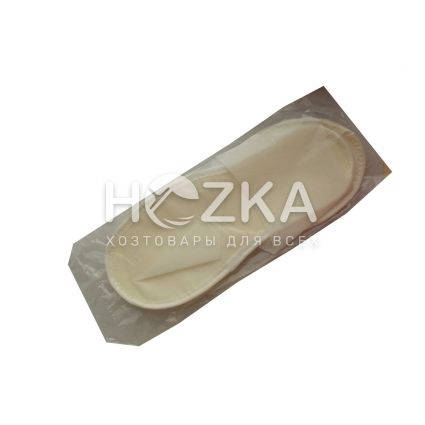 Тапочки гостиничные белые - 1