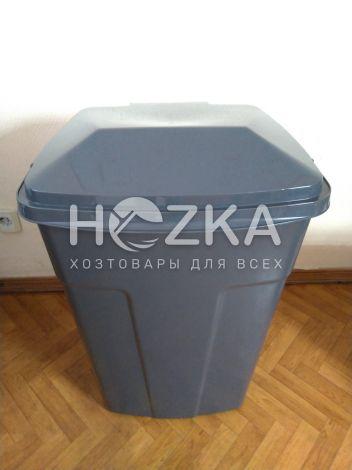 Контейнер для мусора с крышкой 90 л (ВП-90) - 2