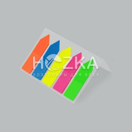 Закладки самоклеющиеся пластиковые - 2