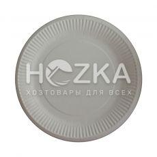 Тарелка бумажная круглая 230 мм 100 шт/уп