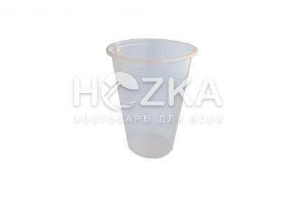 Стакан одноразовый 500 мл пластиковый РР 50шт - 1